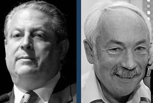 Al Gore a Peter Grünberg