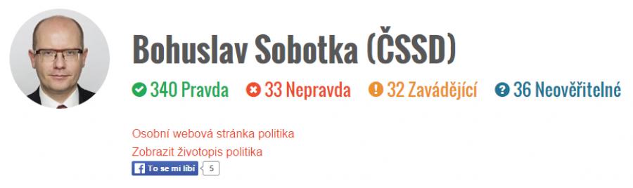Pravdivost pana Sobotky