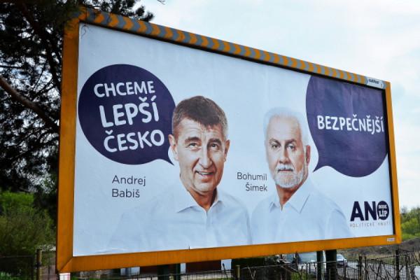 Billboardy jsou zbraň, která se hnutí ANO osvědčila.