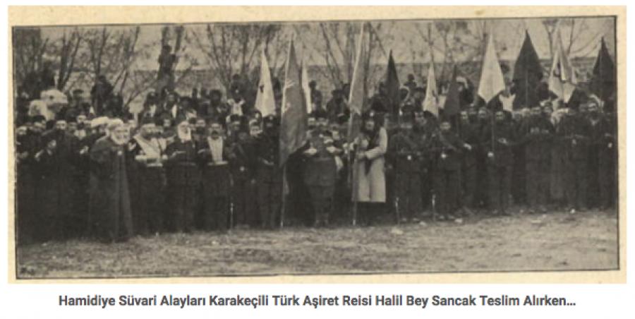 Hamidova Kavaliera - turci - vražednici arménů