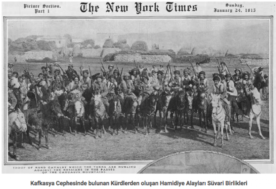 New York Times Hamidova Kavaliera - Kurdové - na ruské hranici