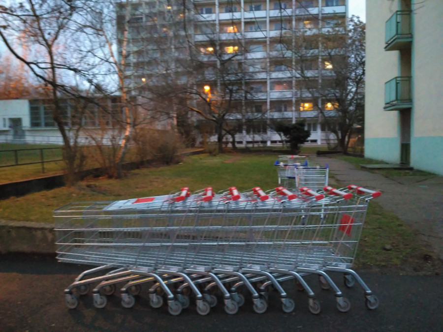 Město nákupních košíků? Kročehlavy.