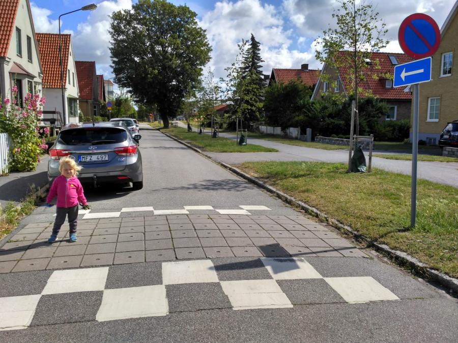 vyloženě chodcům nakloněné bezpečné prostředí