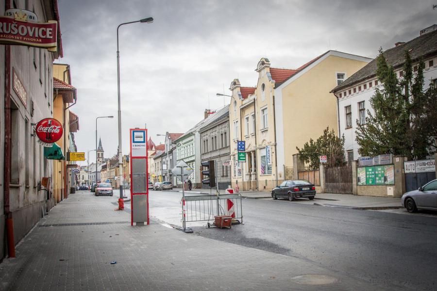 dlouho očekávaná a téměř dokončená oprava ulice Generála Klapálka