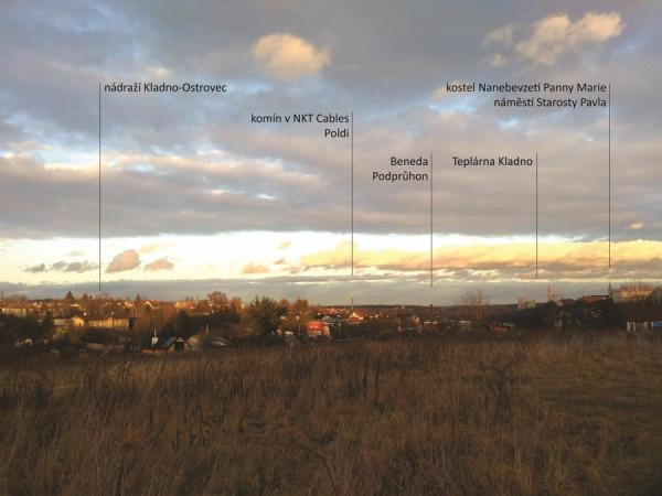 kladenské panorama