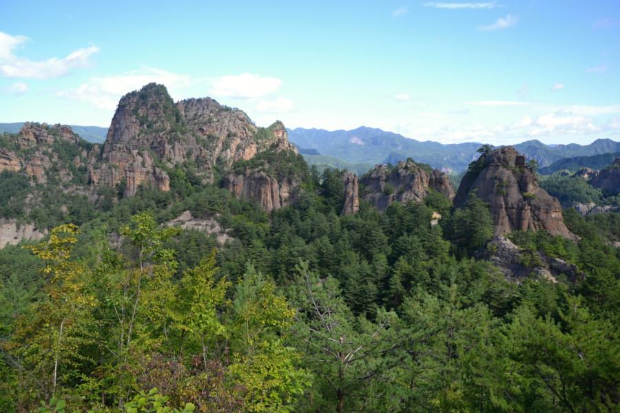 Výhled na pohoří Čilbosan