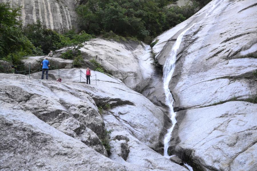 Trek v pohoří Kumgangsan