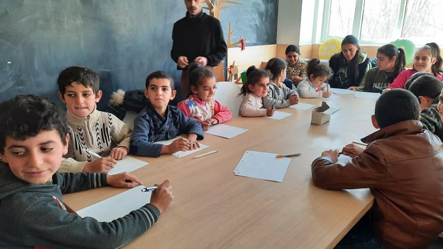 Aktivity s dětmi dočasně vysídlených osob