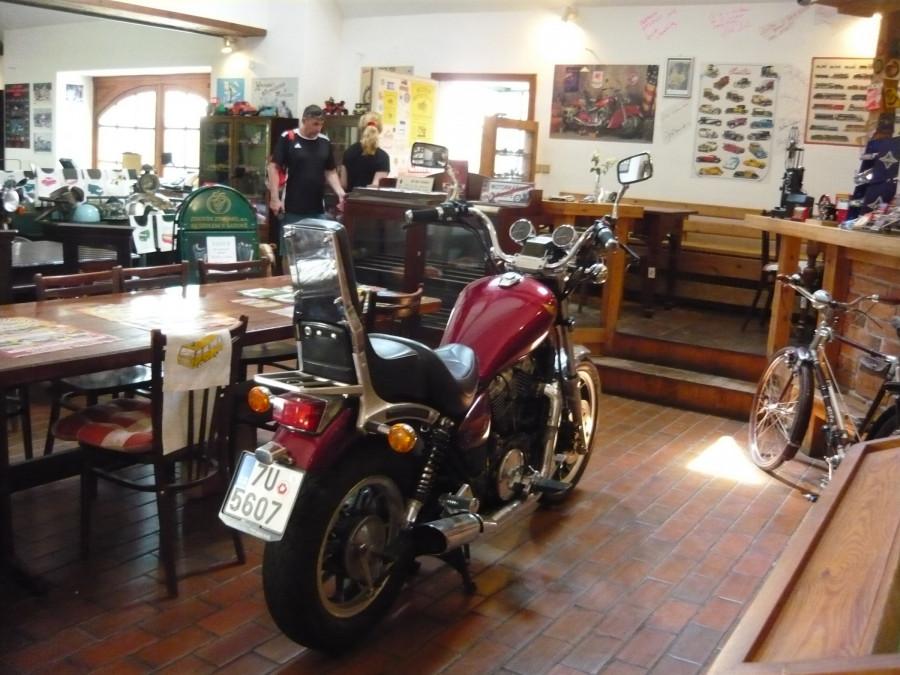 Muzeum motocyklů - Lesná