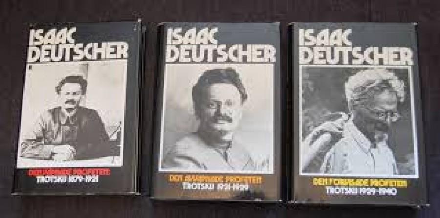 Deutcherova trilogie biografií o Trockém