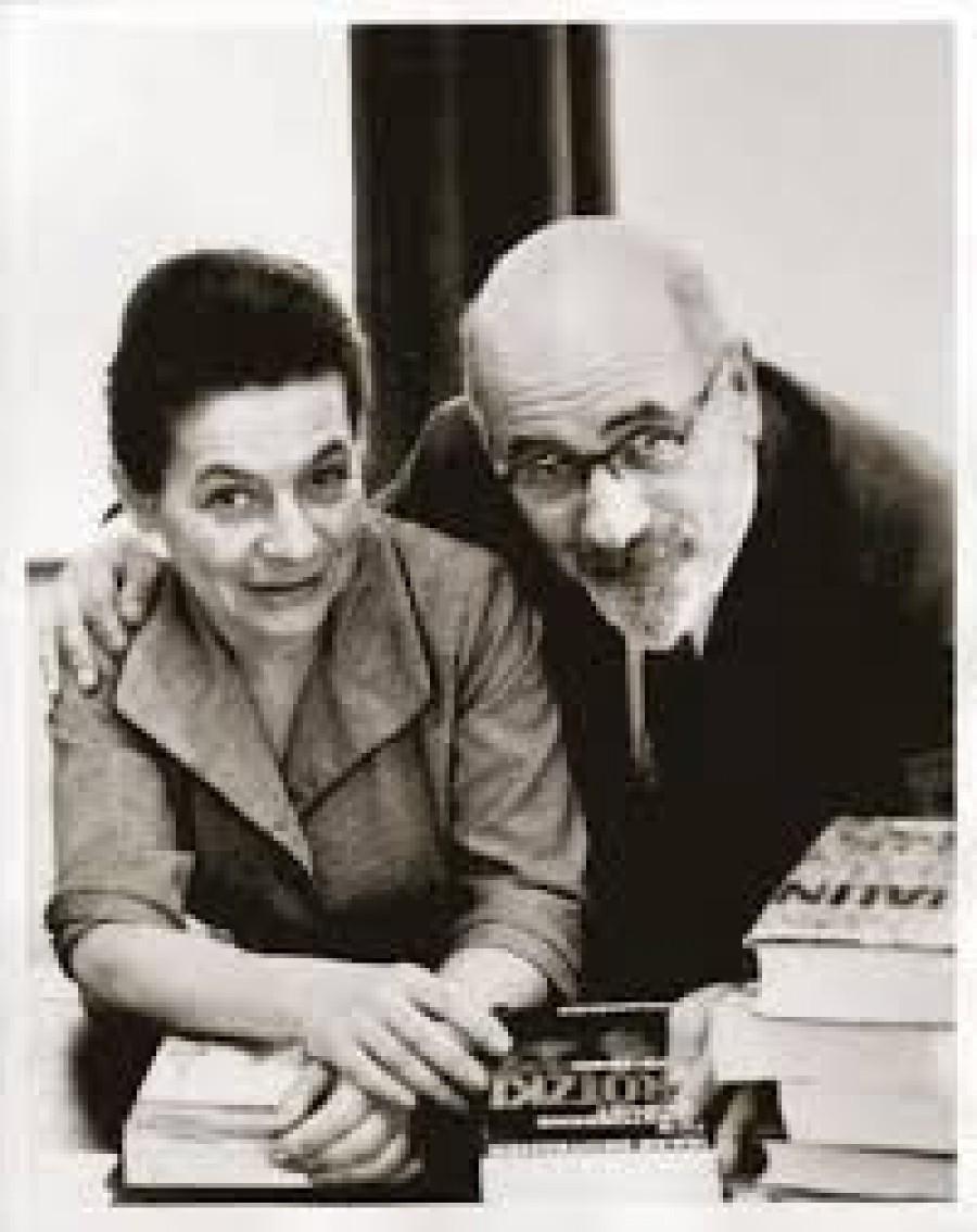 Manželé Isaak a Tamara Deutscherovi