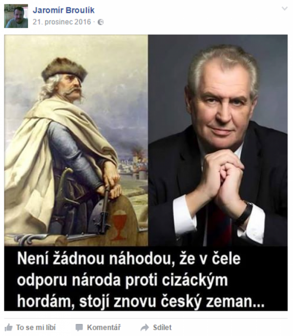 Žižka a Zeman