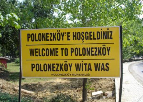 Polonez Köy( Polská vesnice )
