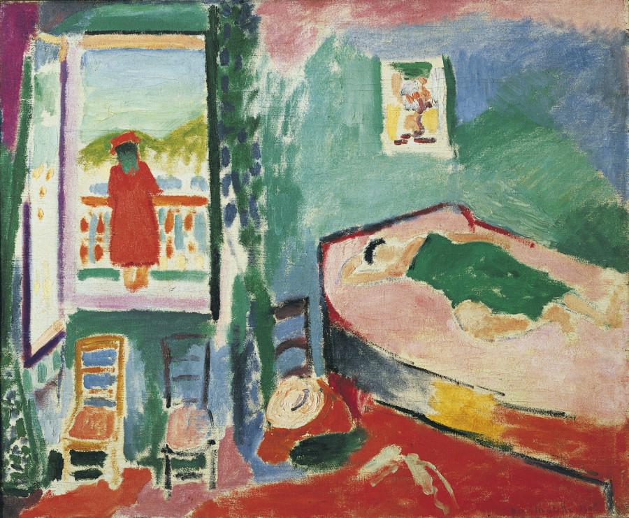 Henri Matisse, Intérieur à Collioure (La Sieste), 1905, olej na plátně, 60 x 73 cm, sbírka Werner a Gabriele Merzbacher,