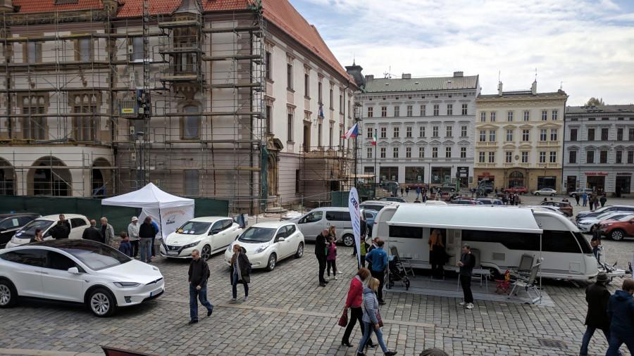 BLOG 61 Když do Olomouce na sraz - tak s karavanem a celou rodinou