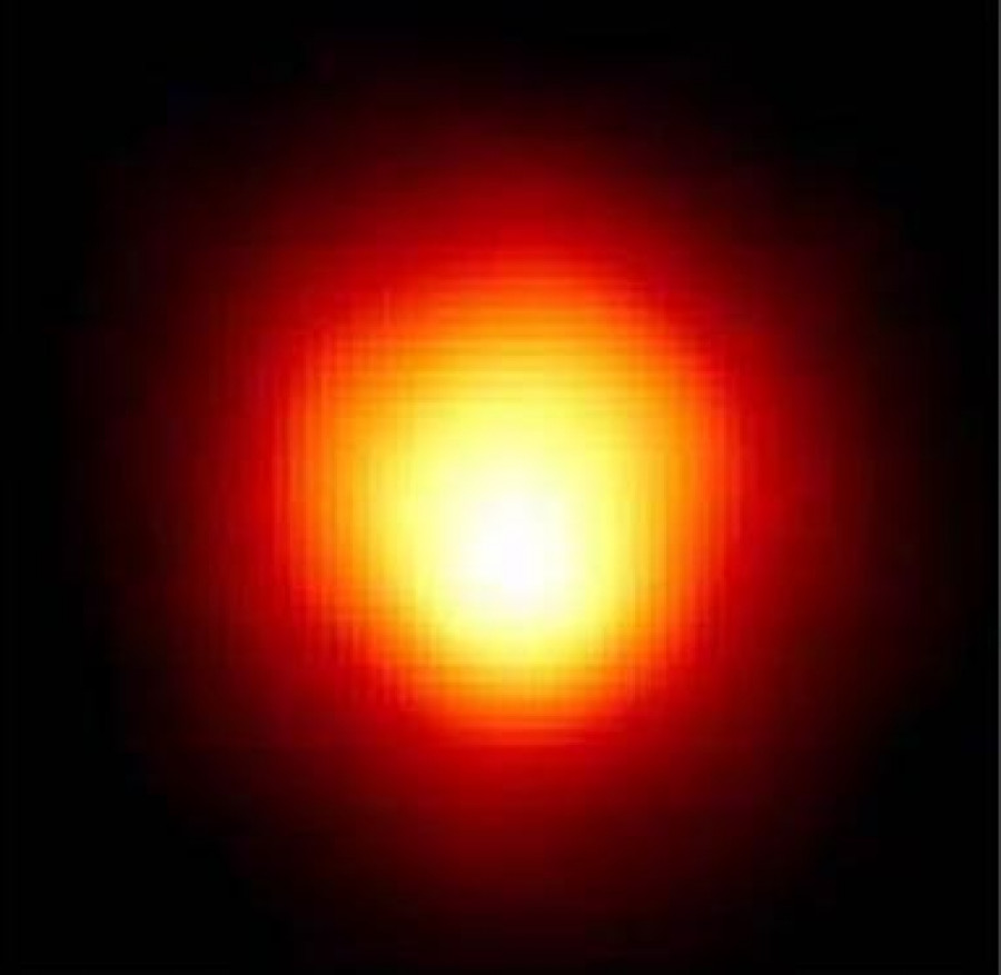 Obrázek: Zdroj: NASA / Hubble Space Telescope [Public domain], https://upload.wikimedia.org/wikipedia/commons/2/2f/Betelgeuse_%E2%80%93_NASA.jpg