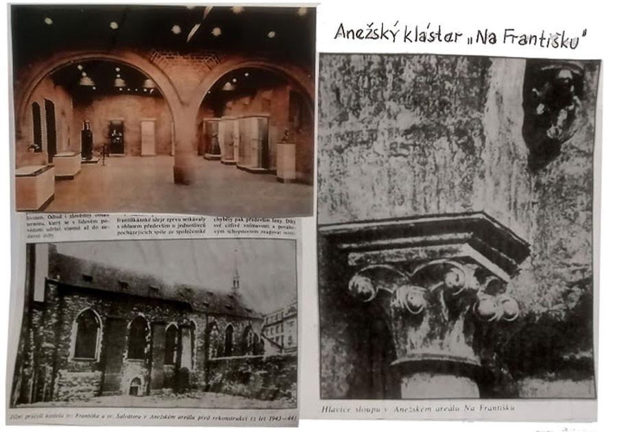 Anežský klášter na Františku - raná gotika z časů krále Otakara