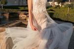 Na focení svatebních šatů pro magazín OnaDnes už byla Sarah těhotná.