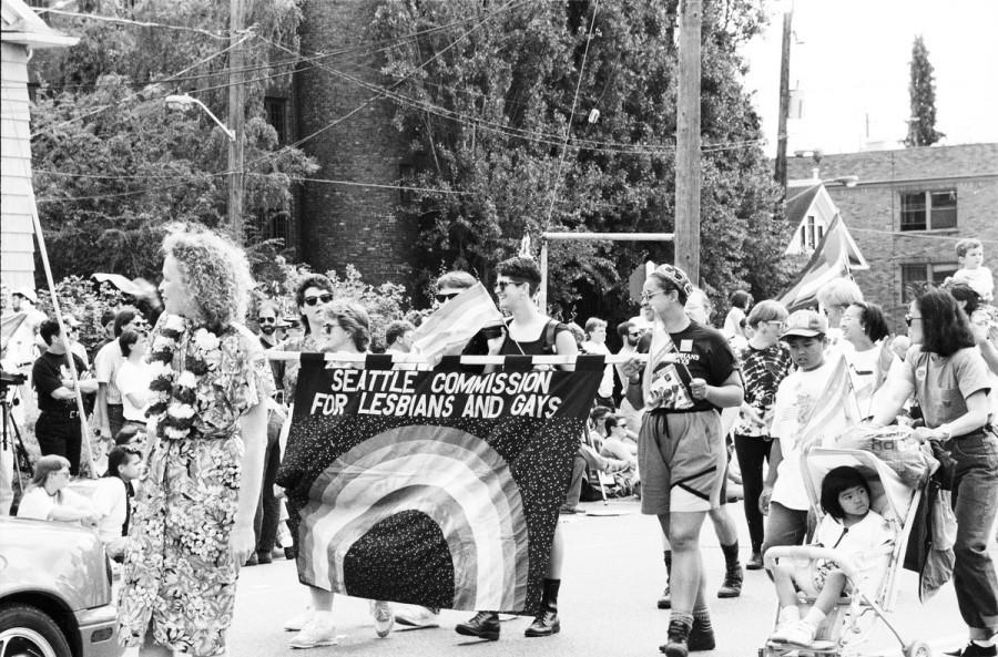 Gay Pride parade, 1993, Seattle